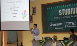 Jummy Halim about Mobile Application